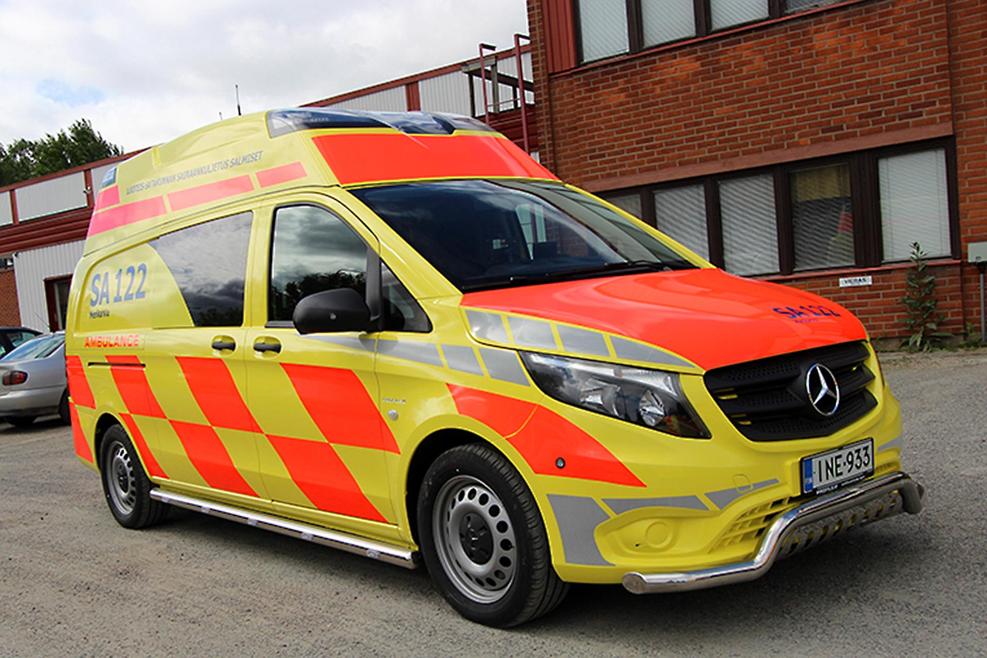 Rescue Vehicle Profile Advanz Ambulance