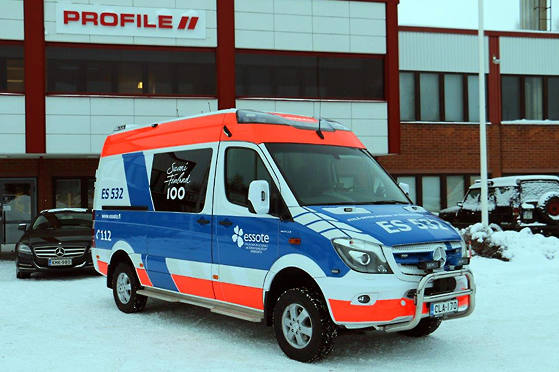 Rescue Vehicle Profile Genios Ambulance