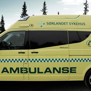 Rescue Vehicle Profile Neo Ambulance