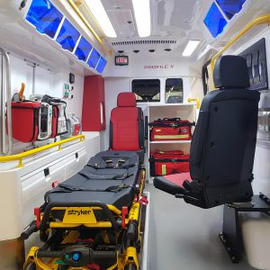 Rescue Vehicle Profile Optimus Ambulance